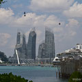 Singapore, Reflections at Keppel Bay from Sentosa Island