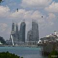 Singapore, Reflections at Keppel Bay from Sentosa Island