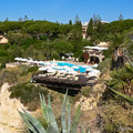 Pool und Restaurant, Hotel Sofitel Vilalara Thalassa Resort, Porches, Algarve, Portugal