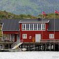 Kabelvag, Lofoten, Norwegen