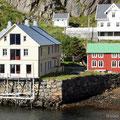Nyksund (unsere Unterkunft), Vesteralen, Norwegen