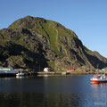 Mortsund, Lofoten, Norwegen
