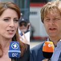 bei ARD und ZDF..., EM 2008 Basel