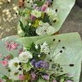 野の花をつかったナチュラルな仏花:ご注文でおつくりいたします。1束1000円〜