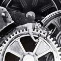 Image du film Les Temps modernes, de Charlie Chaplin, 1936.