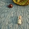 カタツムリのブローチとドレミかん笛