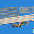 16025-Barrel cleaning rods with brackets for Tiger I –early/late