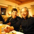 Lex mit Neomitglied Hansi, genannt auch die weisse Feder