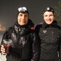 Franz und Ivan nach dem Zieleinlauf