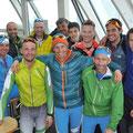 Gruppenbild einiger Teilnehmer