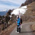 die letzten Meter zur Bergstation gehts dann zu Fuß