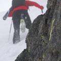 dieser schon auf den letzten Metern zum Gipfel