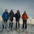 Bergheil - Michl, Ivan, Toni, Franz (von links) - Tubi Fotograf