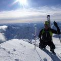 Bergheil, großartiger Ausblick…
