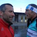 Toni und Ossi besprechen die Taktik