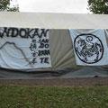 Sandokan-Zelt zum feiern