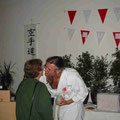 Links: Sensei Liesel Fricke, rechts: Shihan Didi Haas senior