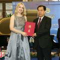 Verleihung Kulturbotschafterin (c) privat