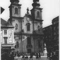 Mariahilfer Kirche, ca. 1925