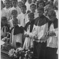 Begräbnis Kaplan Schöfbeck, 1946