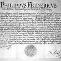 Errichtungsurkunde des Mariahilfer Friedhofs, 22. April 1660