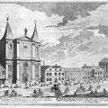 Stich von Salomon Kleiner, 1724