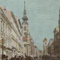 Mariahilferstraße, um 1900