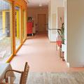 Modernisierter Flur und Wohnbereich