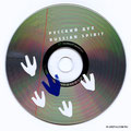 CD печать шелкография 2 Pantone по серебру диска
