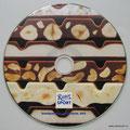 CD печать CMYK ОФСЕТ  + белая подложка. Печать высокой четкости