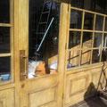 美容院入口