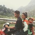 Nahverkehr auf dem Land, das Moped ein zuverlässiges Transportmittel.