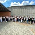 Nürnberg - Nxënësit me Mësuesen e tyre Lume Daci-Hoti (Pjesmarrës nga LAPSH-i z. Selim Hoti - Nënkryetar)