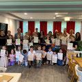 Freising - Nxënësit me Mësuesen e tyre Buqe Arifaj (Pjesmarrës nga LAPSH-i z. Milazim Ukaj - kryetar dhe z. Rexhep Nikçi - arkatar)