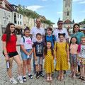 Deggendorf - Nxënësit me Mësuesen e tyre Shqipe Kolukaj (Pjesmarrës nga LAPSH-i z. Avdi Kolukaj - Sekretar)