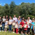 Rosenheim - Nxënësit me Mësuesen e tyre Esengyl Sallauka dhe ata të Kolbermoor me Mësuesen e tyre Valbona Roqi