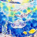 ちゅら海ナイト/ED88/額装サイズ596×670mm/¥64,800(税込)
