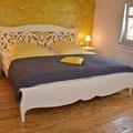 Schlafzimmer - Ferienwohnung Frieda bei Juste in Schotten - Eichelsachsen