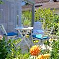 Terrasse Ferienwohnung Willi