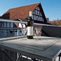 Balkon - Ferienwohnung Frieda bei Juste in Schotten - Eichelsachsen