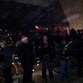 Rewe Weihnachtsmarkt mit Bürgermeister-Wette
