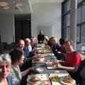 Gemeinsames Mittagessen in Hamburg