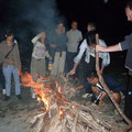 ...Lagerfeuer am Strand