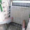 Vanne charpentée du barrage de Notre Dame de Commier (38)