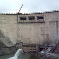Levage de la turbine Francis du barrage d'Avène (04)