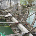 Vannes charpentées du barrage de Froté Montvert (38) avant les travaux de rénovation