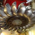 Turbine Pelton de la centrale hydroélectrique de Vallorcine (74)