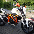 Neues Spassgerät,.. meine KTM Duke 690 2014