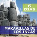 Pasando por  Lima, Cusco, Machu Picchu.