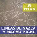 Pasando por  Lima, Nazca, Paracas, Cusco, Machu Picchu